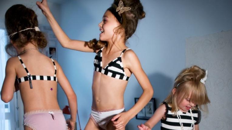 Подходящо ли е децата да носят подобно бельо