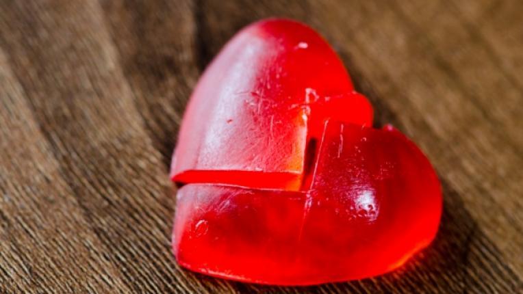 сърце раздяла любов разбито