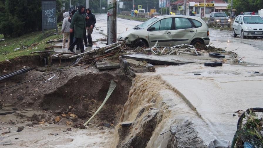 Италианци изчисляват риска от наводнения и свлачища по нов начин