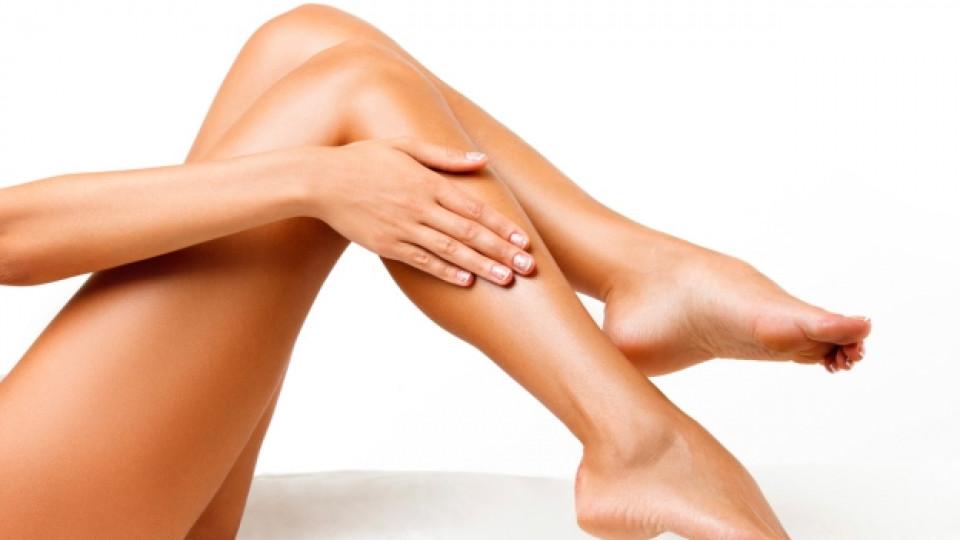 Как да омекотим кожата на краката си