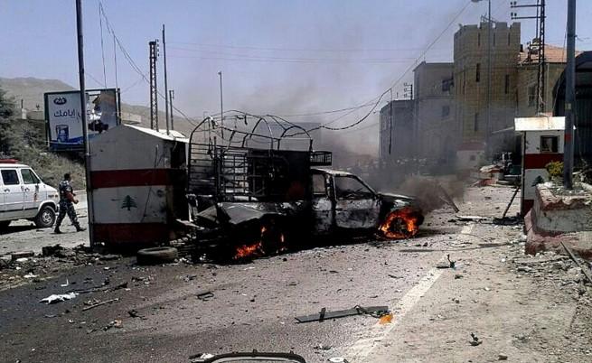 В Ливан осуетиха серия терористични атентати