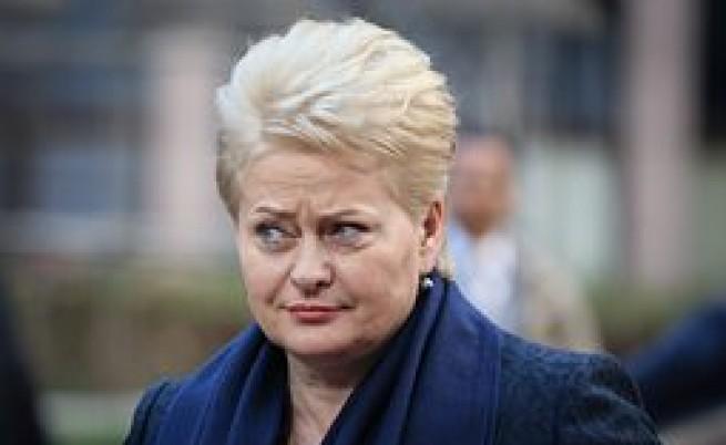 Литовската президентка сравни Путин със Сталин и Хитлер