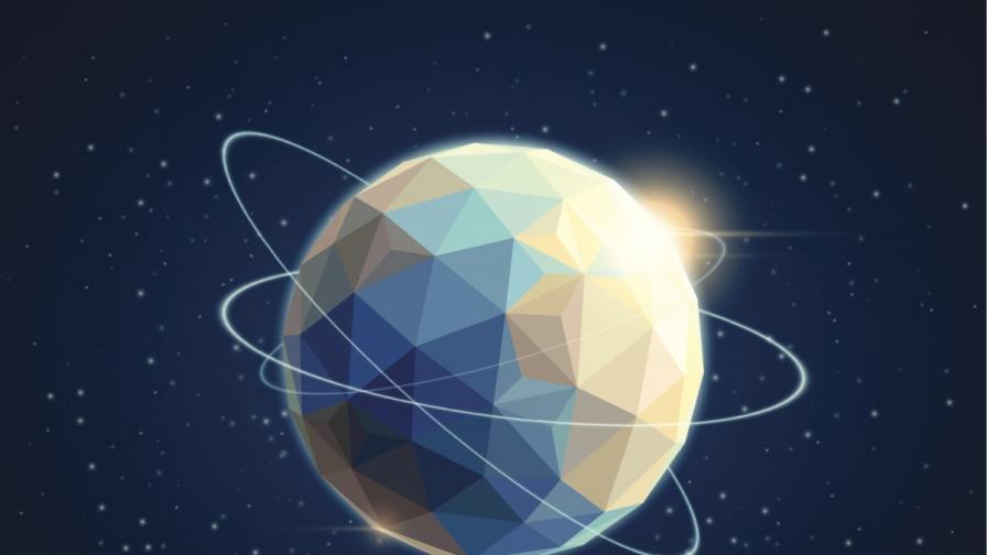Астрономи откриха диамант колкото Земята