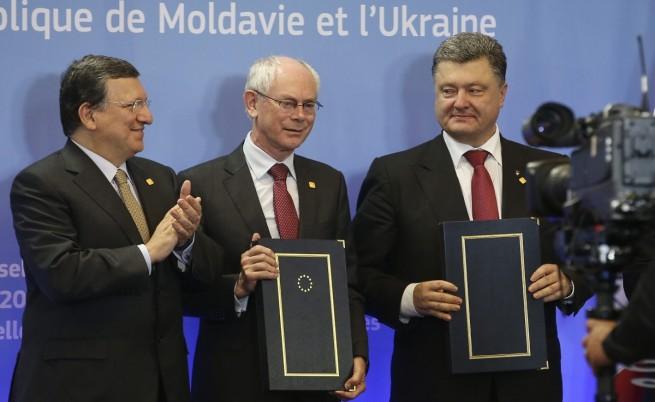 ЕС подписа споразумения за асоцииране с Украйна, Грузия и Молдова