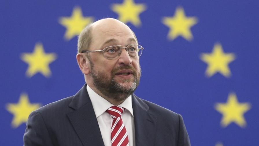 Мартин Шулц се обяви за европейско правителство
