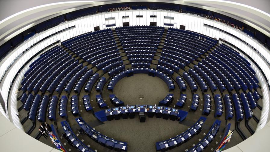 Пленарната зала на Европейския парламент