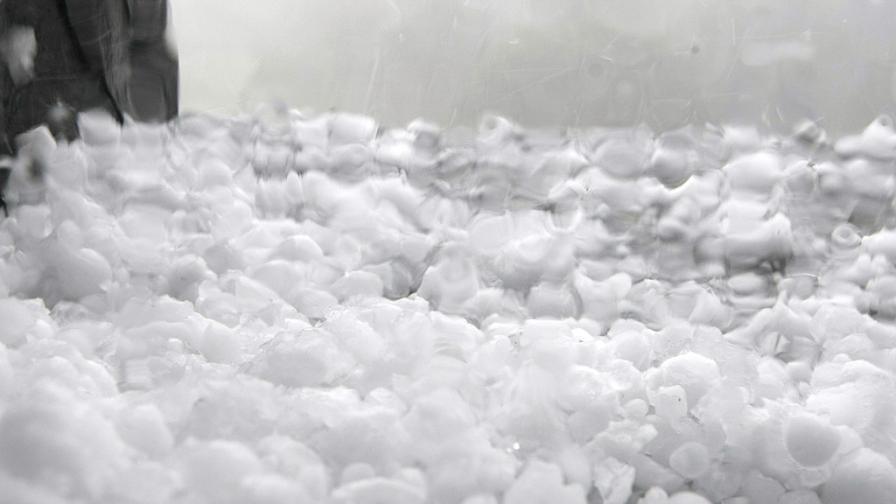 Предупредиха за вероятност за градушка над София