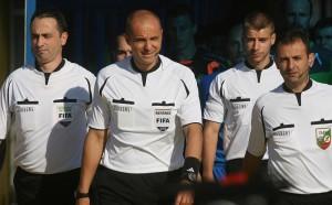 Определиха съдиите за плейаутите в Първа лига