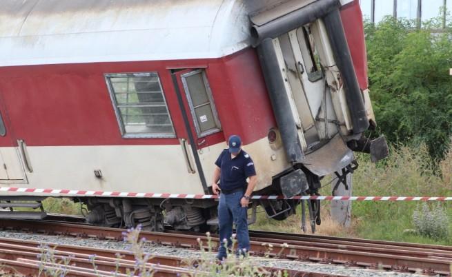 Влаковата катастрофа – заради човешка грешка