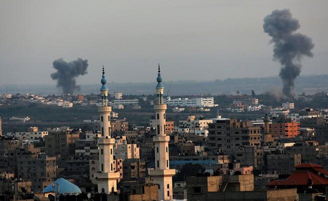 Най-малко 30 палестинци са убити при днешните удари в Газа