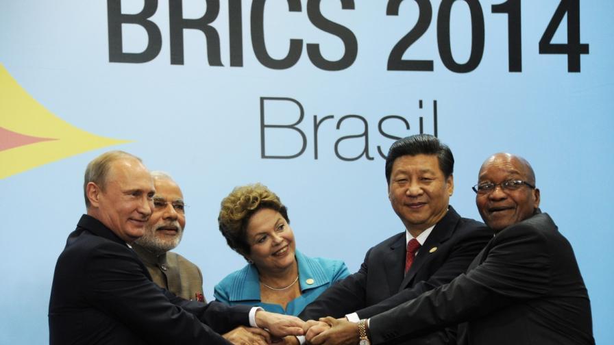 Страните от БРИКС с аналог на Световната банка и МВФ