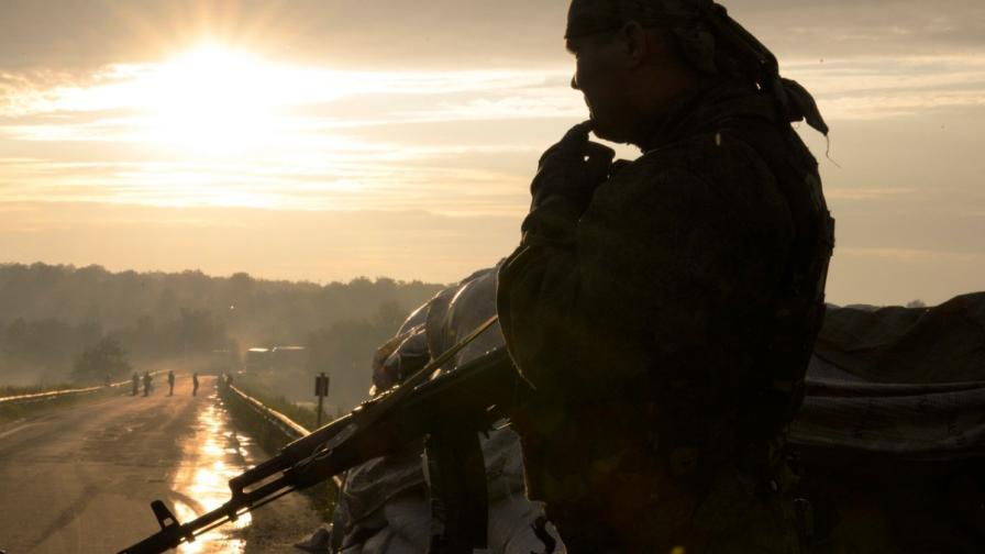Проруски сепаратист в Донецка област