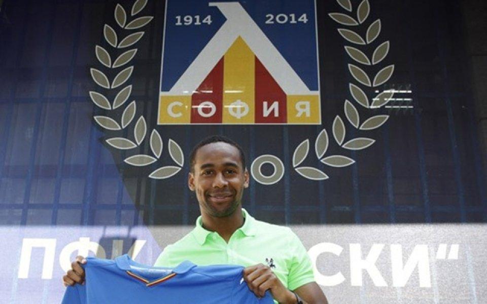 Луис Педро подписа с Левски, ще носи № 11