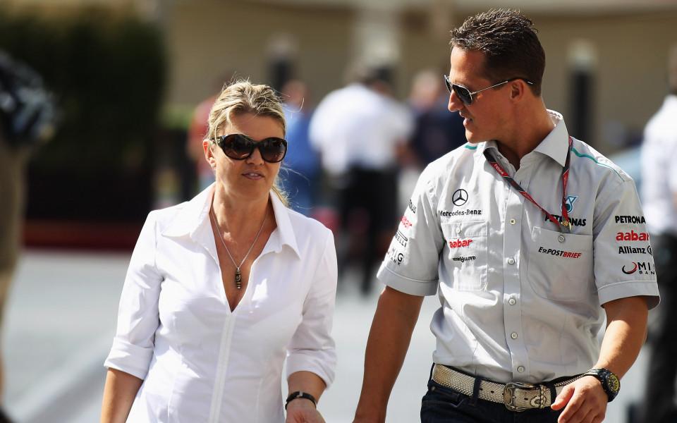 Жената на Шумахер проговори, обяви негово желание