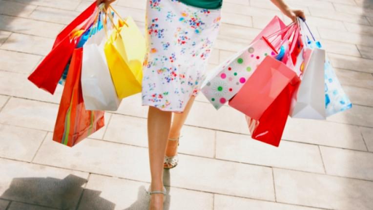 шопинг пазаруване покупки жена