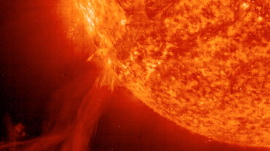 Слънчевата буря през 2012 г. можело да е катастрофална за Земята