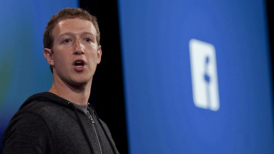 Facebook изтрил съобщения на Зукърбърг в чужди профили