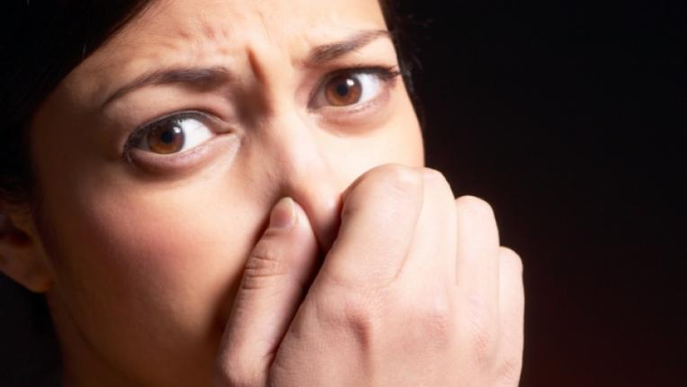 миризма лоша аромат неприятен запушен нос