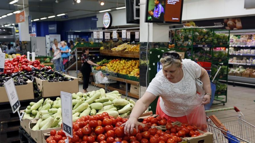 Печатът: От хранителното ембарго страдат руснаците