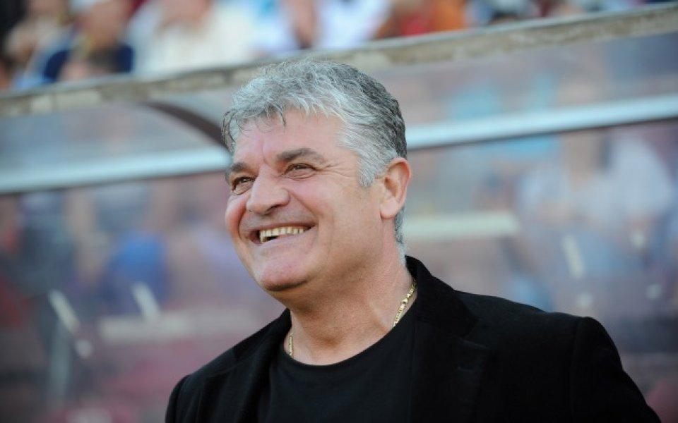 Бившият треньор на ЦСКА и легенда на румънския футбол Йоан