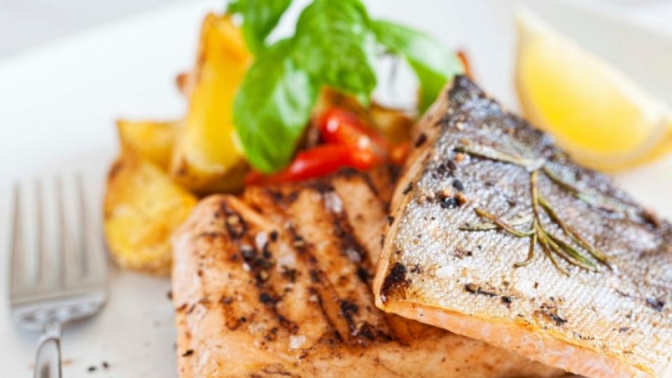 Печената риба е полезна за мозъка