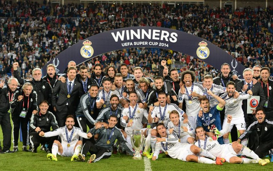 Роналдо си взе Суперкупата на Европа
