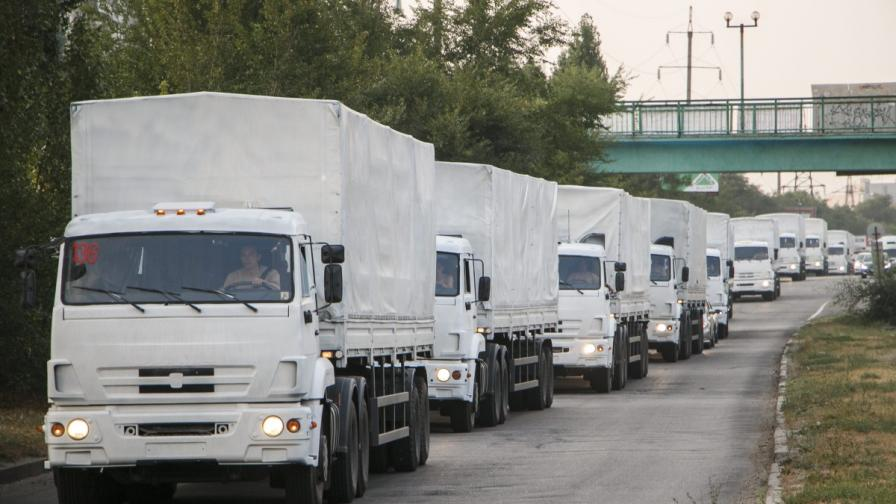 Украйна постави условия за руския конвой