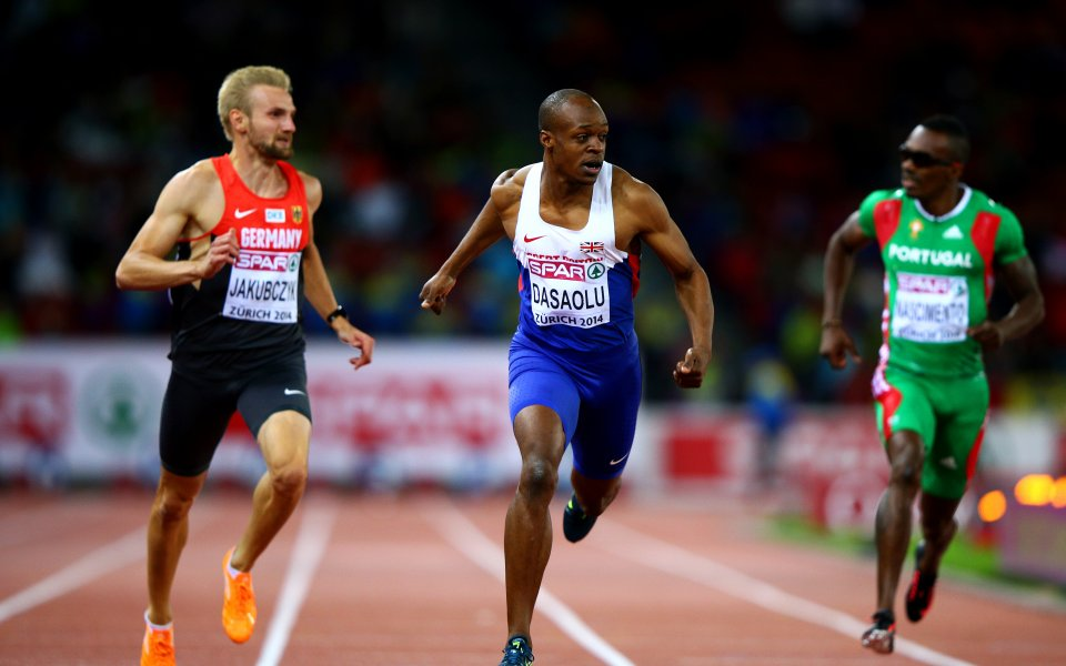 Британец детронира  Льометр  в спринта на 100 метра