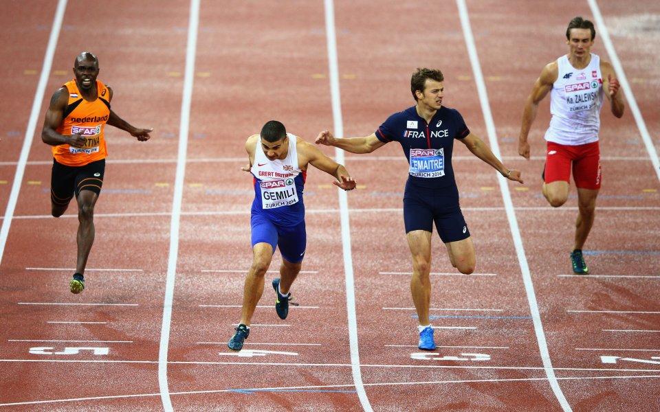 Британец даде най-доброто време в сериите на 200 метра