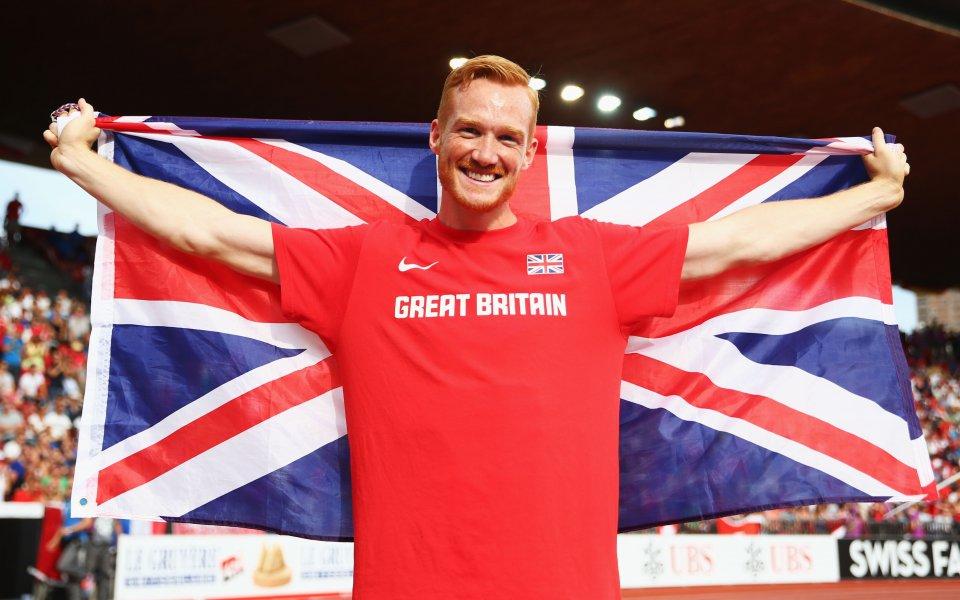 Грег Ръдърфорд  спечели европейската титла  на скок дължина