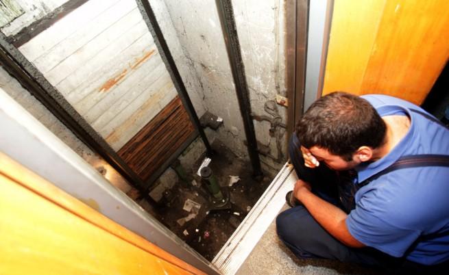 Неправилен ремонт скъсал въжетата на асансьора-убиец