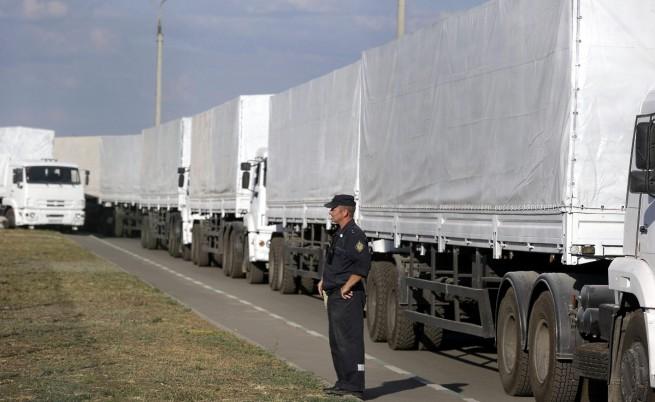 ЕС: Руският конвой явно наруши границите