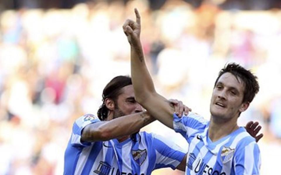 Девет от Малага надвиха Атлетик Билбао на старта в Испания