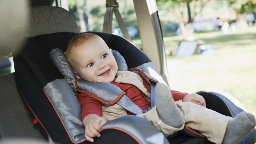Детските седалки за кола са по-мръсни от тоалетна
