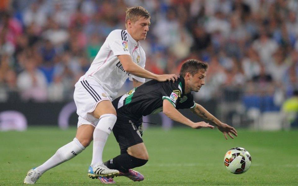 Реал Мадрид тръгна тромаво, но победи новака Кордоба