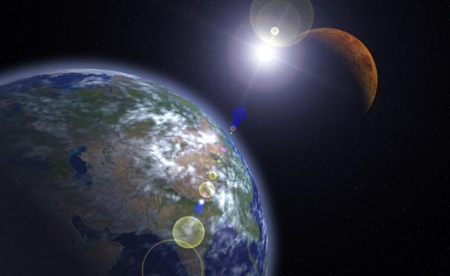 За пръв път откриха водни облаци извън Слънчевата система