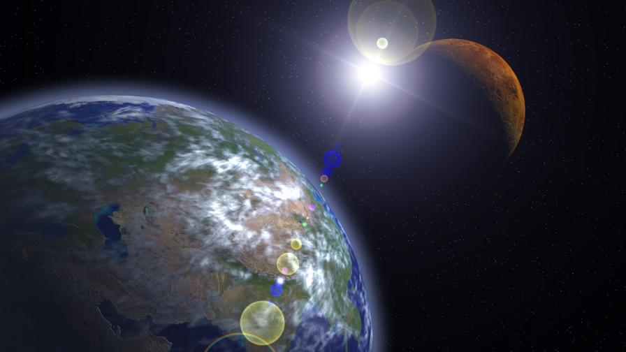 Земните жители ще изпратят 90 000 послания на Марс