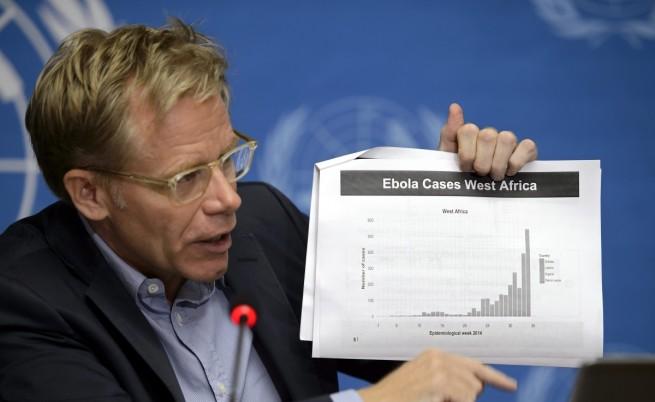 СЗО : Разпространението на ебола продължава да набира скорост