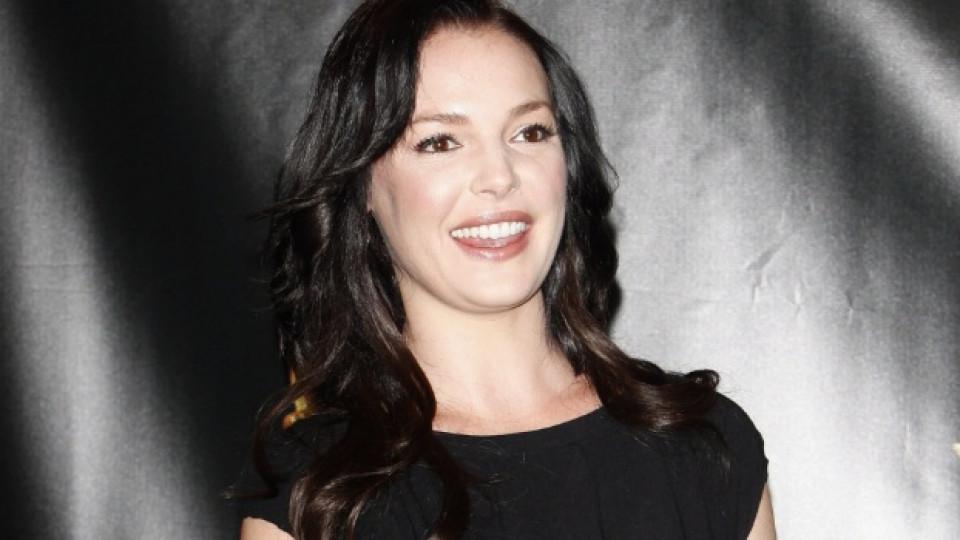 Катрин като брюнетка през 2010 на премиерата на филма й Life as We Know It