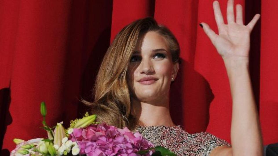 Роузи на червения килим на филмовия фестивал в Берлин