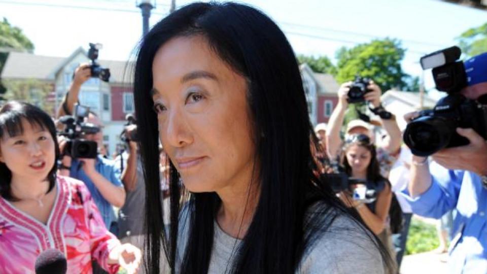 62-годишната Вера Уонг е сред любимите сватбени дизайнерки на знаменитостите