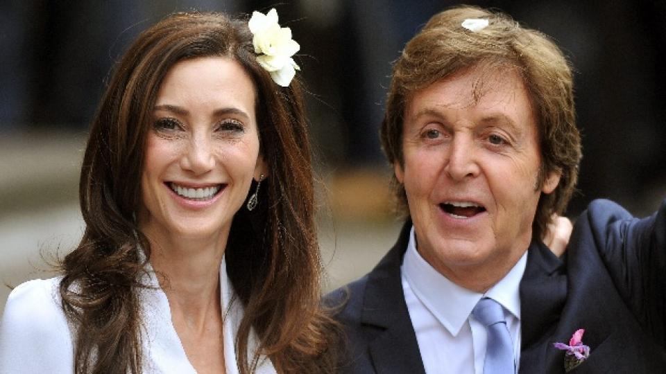 На 9-ти октомври в Лондон Пол се ожени за трети път