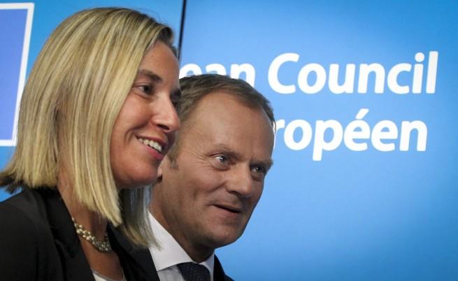 Туск ще е председател на Европейския Съвет, Могерини - външен министър