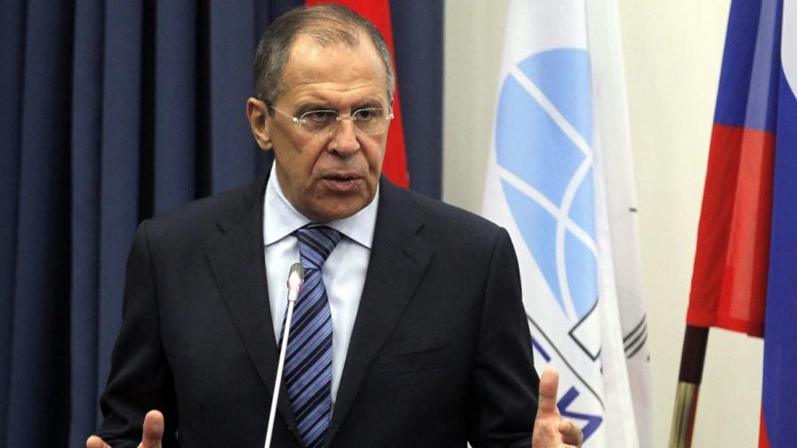 Лавров: Няма да има руска военна намеса в Украйна