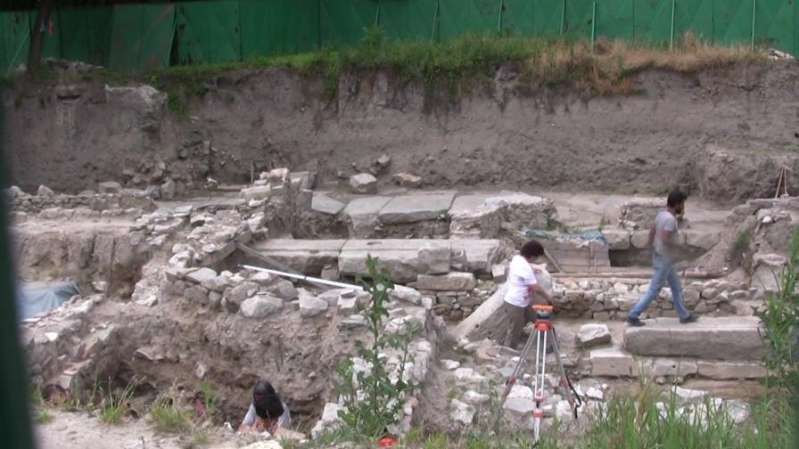 Откриха хан с таверна в древния Филипопол