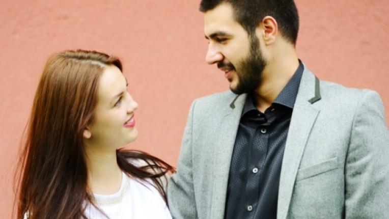 двойка щастие връзка любов
