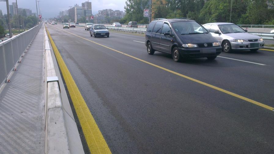 """Пуснаха движението по """"Цариградско шосе"""" предсрочно"""