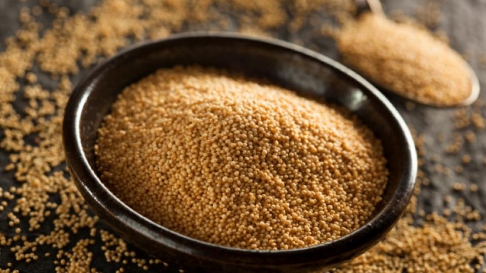 Полезното зърно амарант