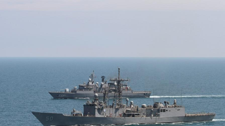 Тези дни НАТО провежда учение в Черно море