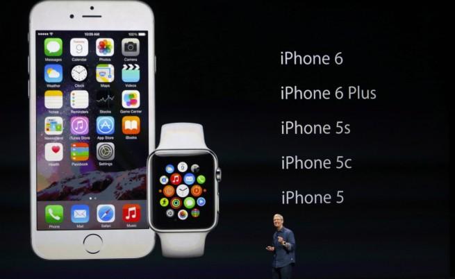 """""""Епъл"""" показа новите iPhone и дългоочаквания си """"умен"""" часовник"""